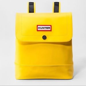 Hunter Bright Yellow Backpack Medium